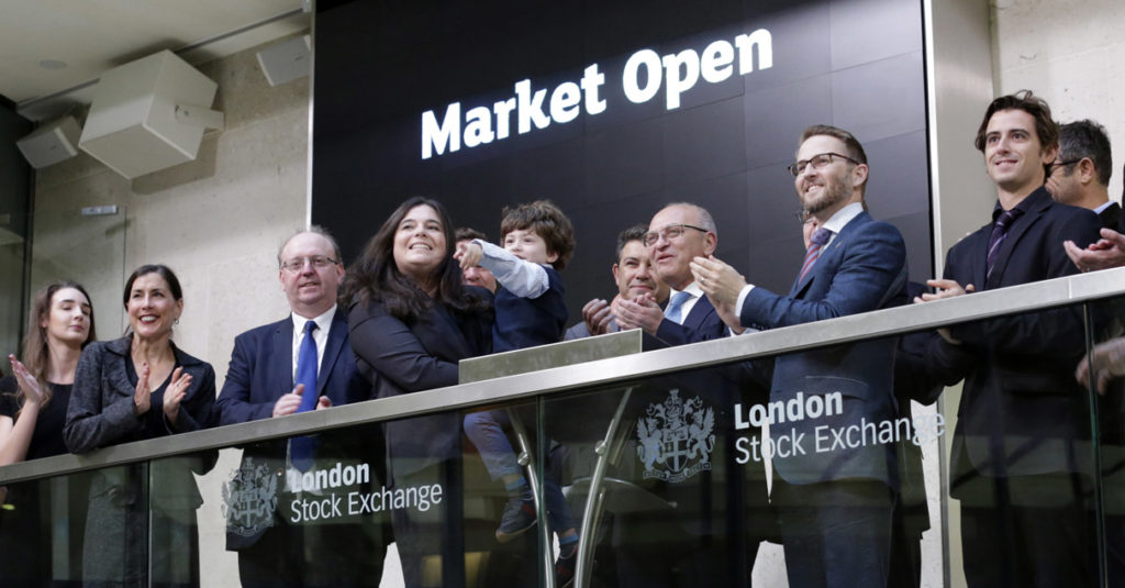 HemoGenyx at the London Stock Exchange